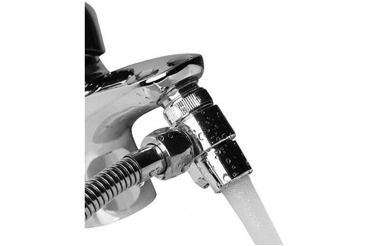 Faucet Sink Valve Brass Sink Valve Diverter Faucet Splitter For Kitchen Or Bathroom Sink Faucet Replacement Part Faucet To Hose Adapter M22 X M24 Polished Chrome Pv10 Matt Blatt
