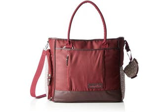 (Cherry) - BABYMOOV Essential Baby Changing Bag (Cherry)