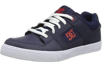 (11.5 UK, Blue Navy White Nwh) - DC Shoes Boys' Pure Low-Top Sneakers