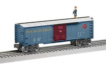 (Cars, Hero Boy Walking Brakeman) - Lionel The Polar Express, Electric O Gauge Model Train Cars, Hero Boy Walking Brakeman