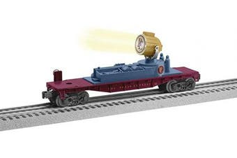 (Cars, Searchlight Car) - Lionel Trains - The Polar Express Santa Searchlight Car, O Gauge