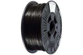 (Black) - 3D Prima PVPLA300BK PrimaValue PLA Filament, 2.85mm OD, 1 kg spool, Black