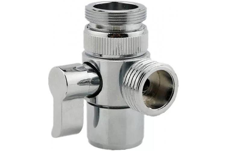 Missmin Sink Faucet Diverter Valve Adapter To Bidet Shower Hose With Aerator For Bathroom Kitchen Faucet Matt Blatt