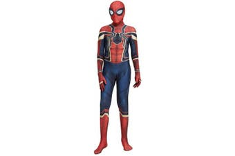 (Children: S) - N/A The Iron Spider Costume - Zentai For Men, Women, Children, Unisex - Fancy Dress Outfit Christmas Halloween (Kids S)