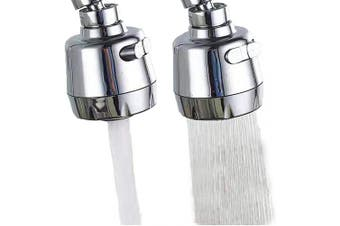 (Shorter Style) - 360 -Degree Swivel Kitchen Sink Faucet Aerator Tap Aerator Faucet Nozzle for Kitchen, Bathroom Faucet (Shorter Style 1PC)