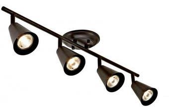 (4-Light) - Addington Park 60018 Sian Track Light, 4, Oil-Rubbed Bronze Finish