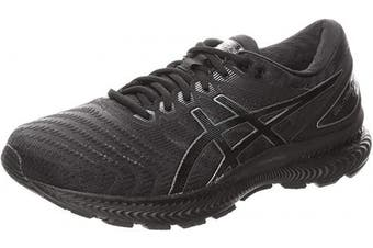 (12 UK, Black) - ASICS Men's Gel-Nimbus 22 Running Shoe