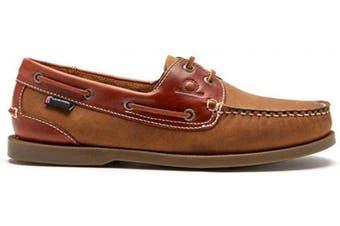 (9.5 UK, Tan) - Chatham Men's Bermuda Ii G2 Boat Shoe
