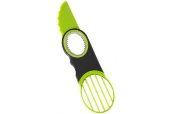 (Light Green) - 3 in 1 Avocado slicer,dishwasher safe
