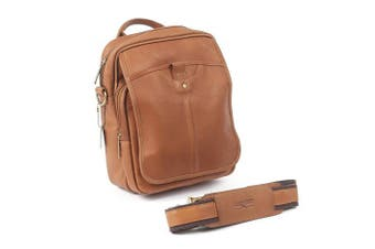 (Saddle) - Classic iPad Man Bag