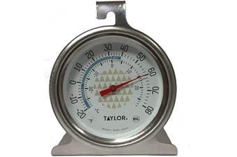 (1, Black) - Tru Temp Refrigerator-Freezer Thermometer