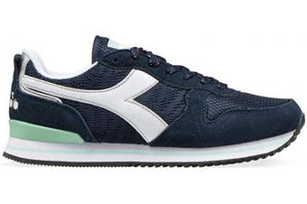(EUR 41, 60065 Deep Blue) - Diadora - Sneakers Olympia WN PLAT for Woman