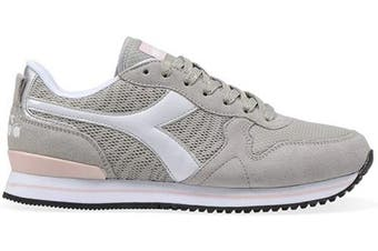 (EU 37 - US 6.5 - UK 4.5 (cm 23), 75042 Gray Alaska) - Diadora - Sneakers Olympia WN PLAT for Woman