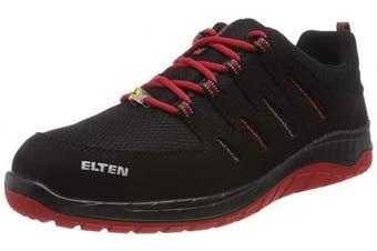 (43) - Elten El-729561_43 Safety shoes, Black-Red, 43 Size