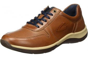 (9 UK, Brown Almond 05) - camel active Men's Path Low-Top Sneakers
