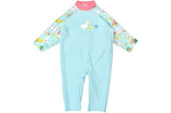 (6-12 Months, Little Ducks) - Splash About Unisex Baby Uv All-in-one Sunsuit