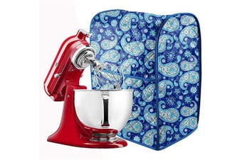 (Cashew print) - Stand Mixer Dust Cover Cotton Quilted Kitchen Aid Mixer Cover for Kitchen aid to Keep Clean and Safe,,Compatible with All 6-7.6l Kitchen Aid Mixers CYFC364(Cashew print)
