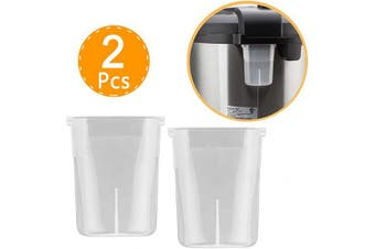 (5.7l) - Wish Original Condensation Collector for Instant Pot 5, 6, 7.6l Duo, Duo Plus, Ultra, Lux - 2 Pcs