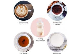 (Green) - Coffee Warmer for Desk, Mug Warmer with Auto Shut Off, ANBANGLIN Coffee Cup Warmer for Coffee Milk Tea, Candle Wax Cup Warmer Heating Plate (Green)