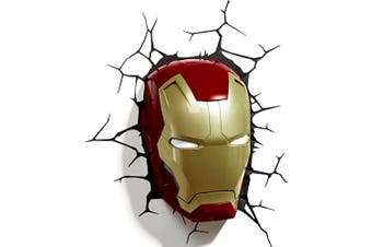 Marvel Iron Man 3 3D Mask Deco Light