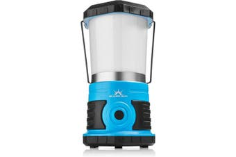 (1500 Lumen, Frosted Top) - Blazin' Sun - Brightest Battery Powered LED Camping and Emergency Lantern