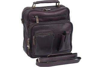 (One Size, Café) - Claire Chase Jumbo Man Bag