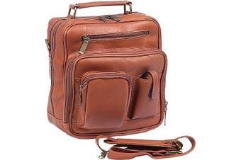(One Size, Saddle) - ClaireChase Jumbo Man Bag