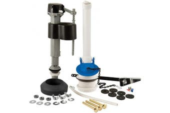 Plumbcraft 7029000 Toilet Repair Kits, White/Black