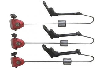 (Red, 2x) - Indicators Bite Carp Fishing/Angling Bite Indicators/Swing Arms in Variety of Colours