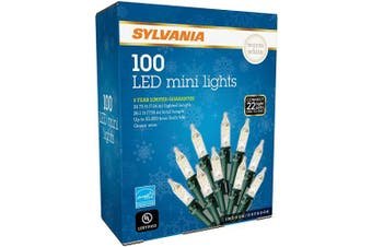SYLVANIA 100 LED Mini Lights Warm White
