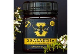 Zealandia Manuka Honey Monofloral MGO550+ (250g)