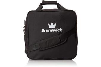 (Black) - Brunswick T-Zone Single Tote Bowling Bag