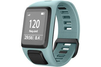 (Teal) - NotoCity Silicone Watch Band Replacement for Spark/Spark 3/Golfer 2/Adventurer/Runner 2/3 Smartwatch for Man Women(Teal)
