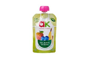 Annabel Karmel Organic Apple, Blueberry & Banana 100g