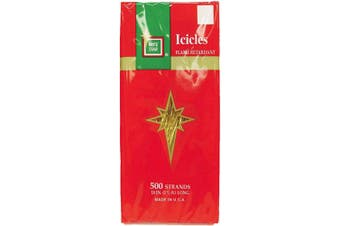 Brite Star Icicles Tinsel, Gold