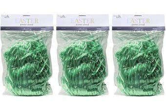 (Lime) - Brite Star Easter Grass Décor, 35ml, Lime, 3 Pieces