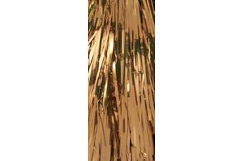 Christmas Elegance Gold Tinsel Icicles, Mylar