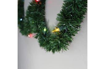 (15m, Multicolor) - Brite Star Pine Lighted Garland, 15m, Multicolor