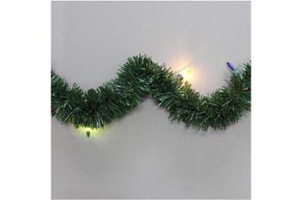 (5.5m, Traditional Mini_multi) - Brite Star Pine Lighted Garland, 5.5m, Traditional Mini_Multi