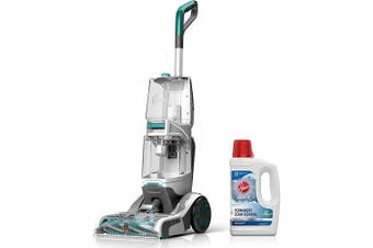 (Smartwash + Oxy Solution 50 oz) - Hoover Smartwash Automatic Carpet Cleaner with Oxy Carpet Cleaning Solution (1480ml), FH52000, AH30950