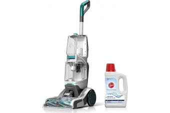 (Smartwash + Free & Clean Solution 50 oz) - Hoover Smartwash Automatic Carpet Cleaner with Free & Clean Carpet Cleaning Solution (1480ml), FH52000, AH30952