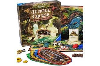Ravensburger Disney Jungle Cruise Adventure Game for Ages 8 & Up -
