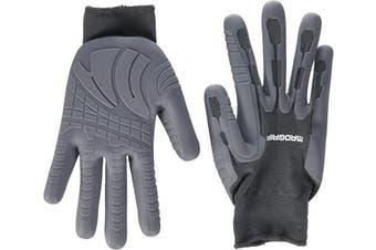 (X-large, Grey) - MadGrip Pro Palm Rhino Glove, Grey, X-large