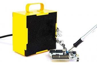 (Solder Fume Remover) - KOTTO Solder Smoke Absorber Remover Fume Extractor Smoke Prevention Absorber DIY Working Fan for Soldering Station