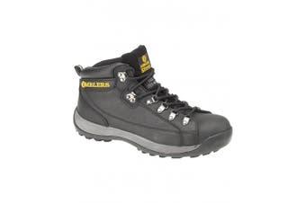 (12 UK, Black) - Amblers Steel FS123 Safety Boot