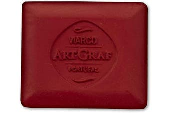 (Red) - Art Graf 500587 Water-Soluble Tailors Chalk Square Disc, Red