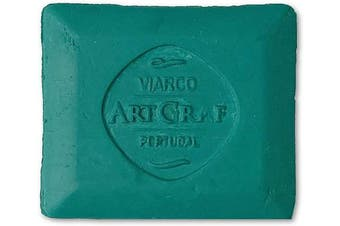 (Green) - Art Graf 500542 Water-Soluble Tailors Chalk Square Disc, Green