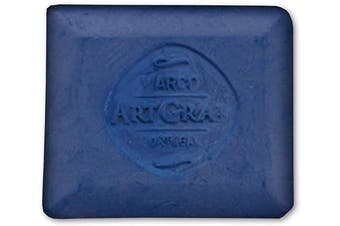 (Blue) - Art Graf 500475 Water-Soluble Tailors Chalk Square Disc, Blue