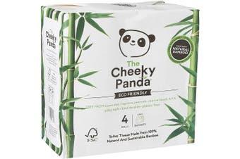 The Cheeky Panda Ultra Sustainable Bamboo Toilet Tissue 4rolls