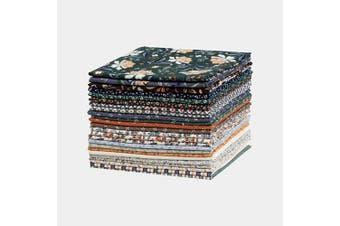 (Blue Ridge Mountain) - Connecting Threads Print Collection Precut Cotton Quilting Fabric Bundle Fat Quarters (Blue Ridge Mountain)